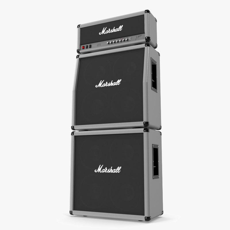 marshall amp 3D model