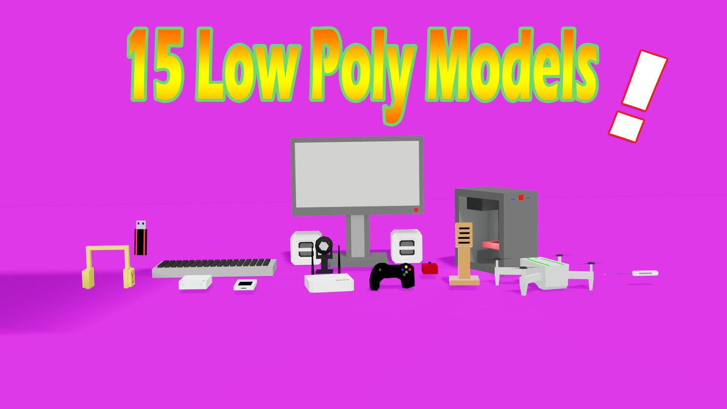 3D model 15 technologic pack