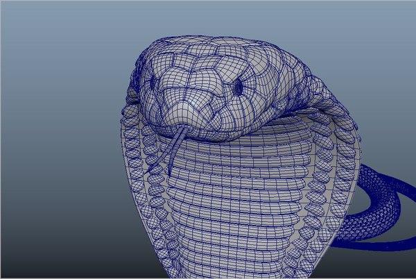 cobra snake 3D model