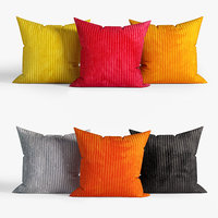 3D decorative pillows dot bo