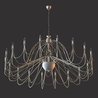 lis lighting avalon 3D model
