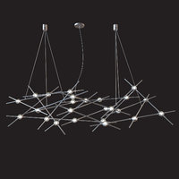 Constellation Ursa Minor Chandelier by Sonneman