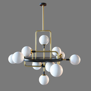 3D modern viaggio pendant light