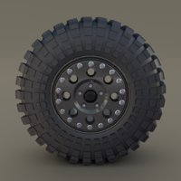 tibus wheel maxxis trepador 3D model