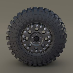 tibus wheel maxxis trepador 3D model