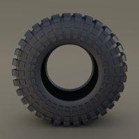 maxxis trepador tire 3D