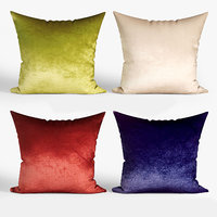 3D decorative pillows dot bo model