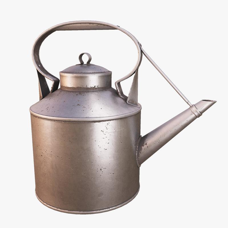 3D angkringan kettle