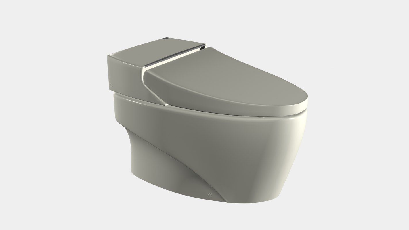 integrated toilet pp 01 3D