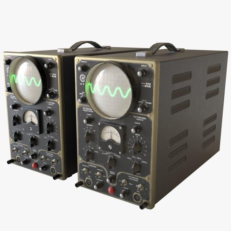3D oscilloscope 25i