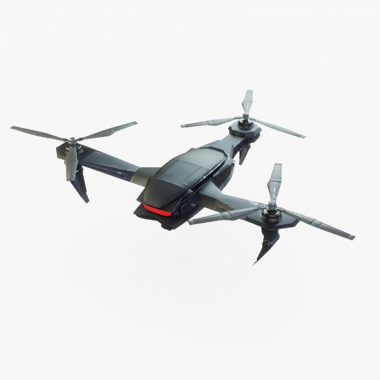 drone pbr 3D model