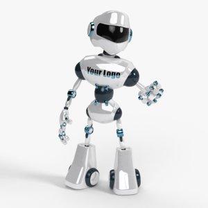 3D custom robot rig