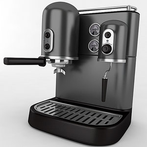 3D coffee maker model