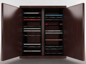 3D 40 disc cd cabinet
