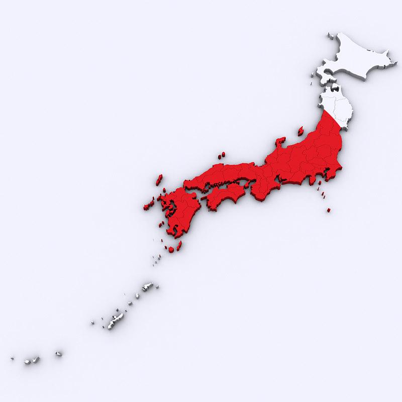 3D japan