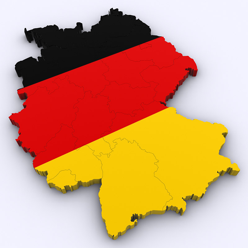 germany german 3D model