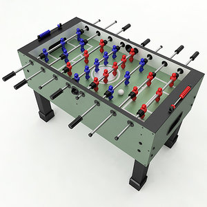 3D foosball table