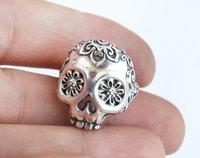 Skull ring, printable jewelry model