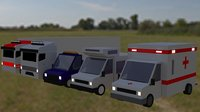 3D vehicles truck motortruck