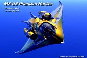 3D spacecraft aerial