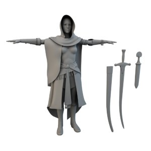arabian secret 3D model