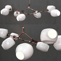 3D branching bubble 7 lamp