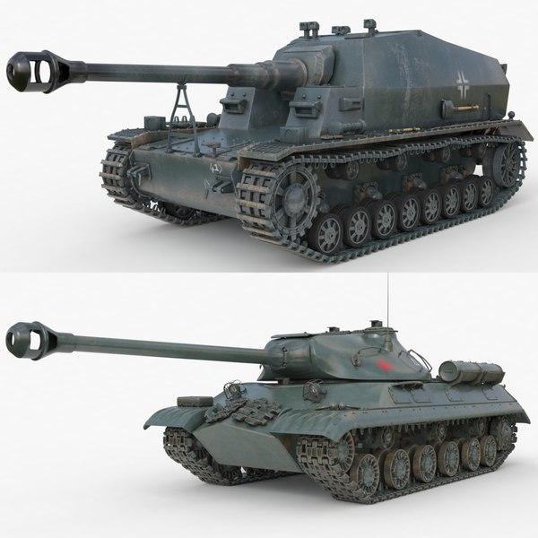 tank 001 3D model
