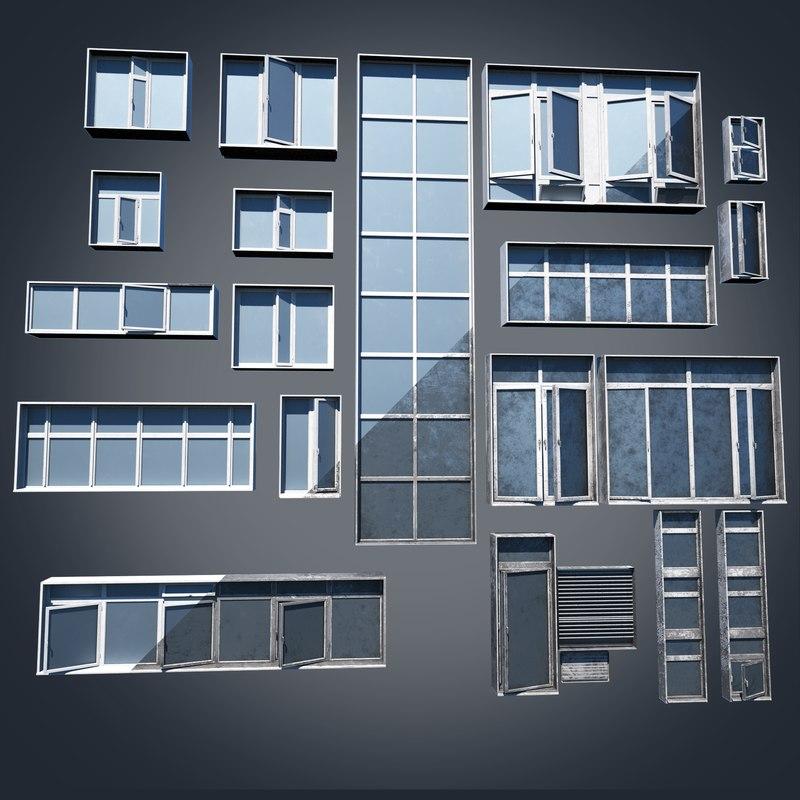 3D model windows clean unity
