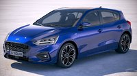 focus st-line 2019 3D model