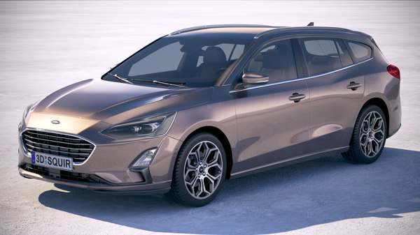 3D focus wagon 2019 model