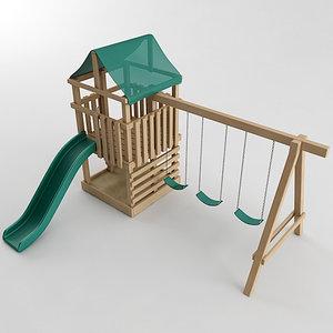 playground set model