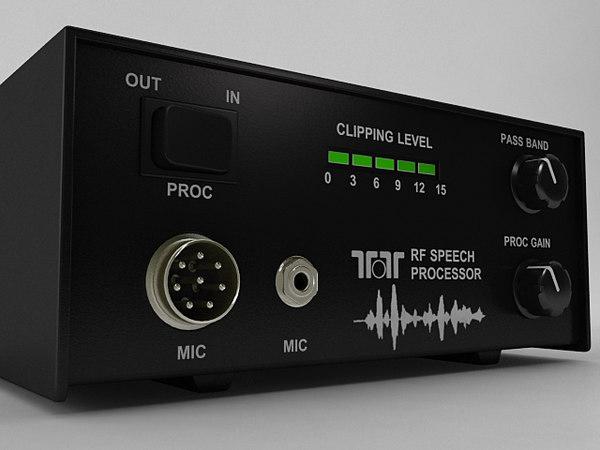 3D rf speech processor