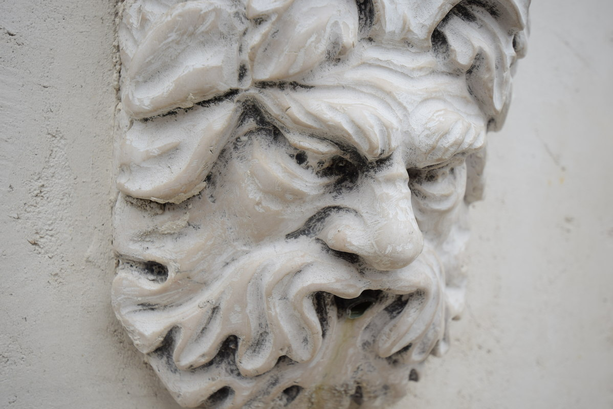 3D italian bas-relief model