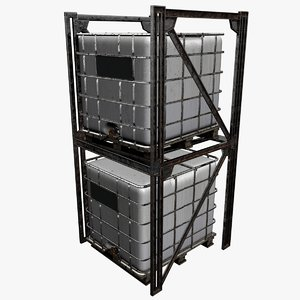 3D ibc containers rack