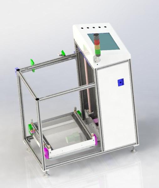 3D elevator conveyor model