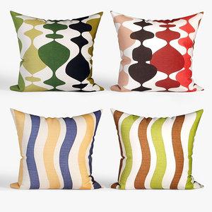 decorative pillows dot bo model