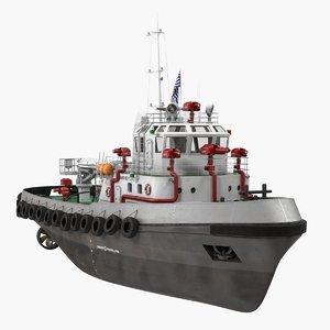 fireboat generic 3D model