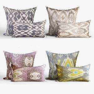 decorative pillows dot bo 3D model