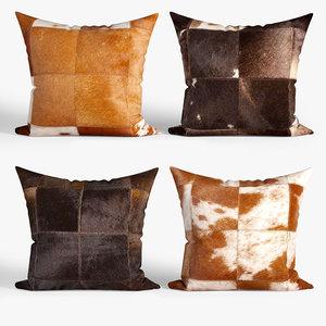 3D decorative pillows dot bo