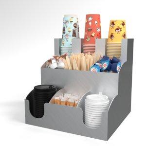 3D model blender bar holder organizer