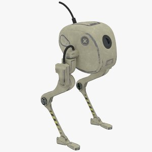 3D patrol robot