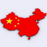 3D china model