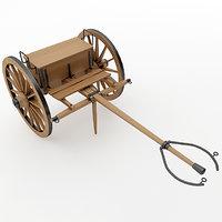 3D napoleon 1841 6 pounder