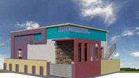 3D model house design