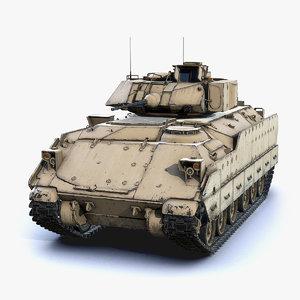 3D model infantry m2a2 bradley