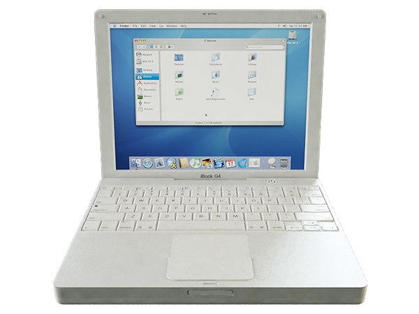 ibook g4 3D model