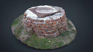 3D sewer bricks