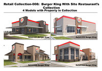 3D retail collection-008 burger king
