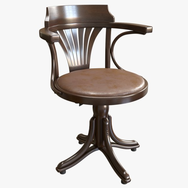 ton chair kontor 3D model