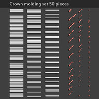 crown molding set model